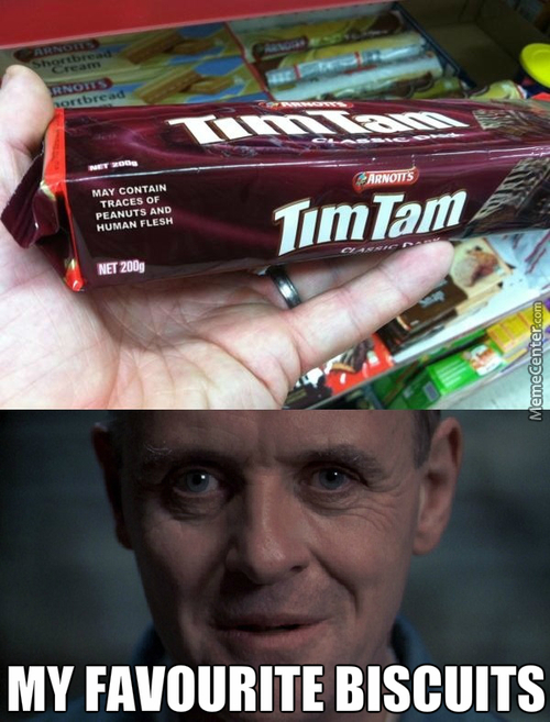 Hannibal Lecter's Choice Of Biscuits