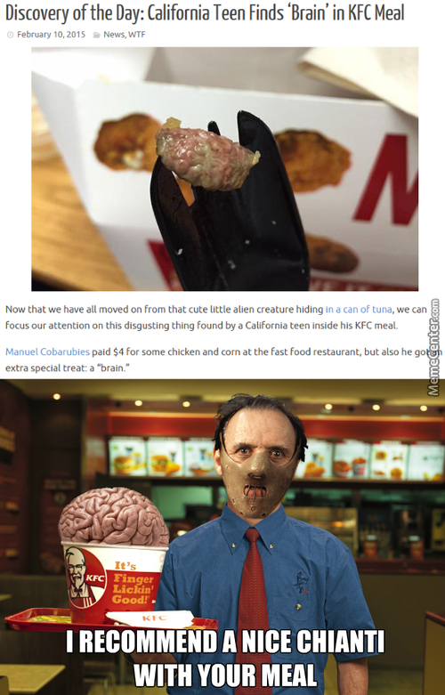 Hannibal Working At Kfc Now