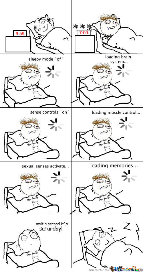 Happens Eeevery Morning...