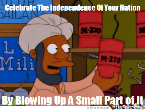 happy 4th of july from the simpsons_o_1786503 happy 4th of july, from the simpsons! by cynicaljoseph meme center