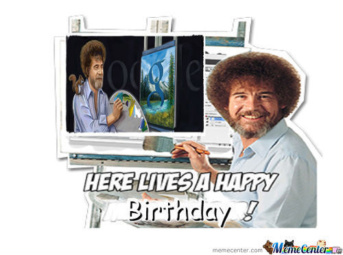 Happy 70Th Bob Ross!