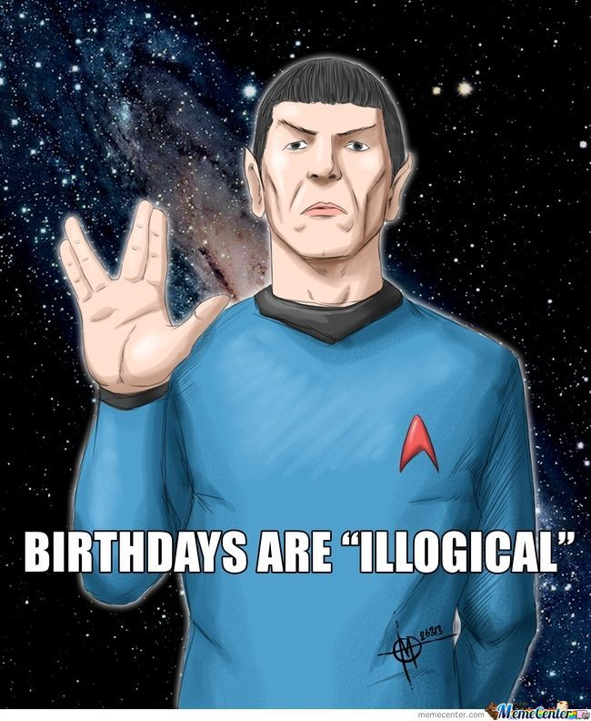 Happy Birthday, Leonard Nimoy.