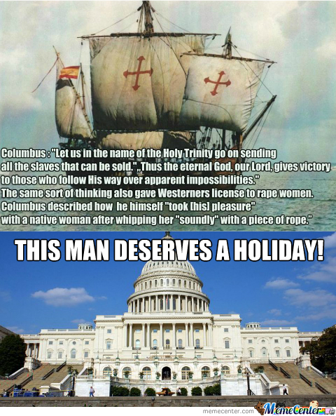 happy columbus day_o_2326571 happy columbus day by kickassia meme center