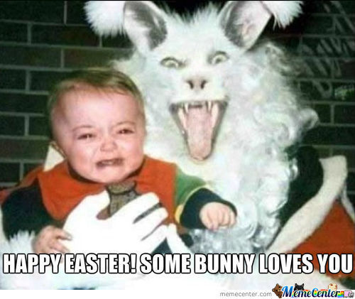Happy Easter! Some Bunny Loves You.