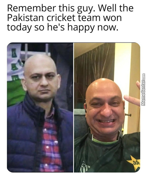 Happy For Him.
