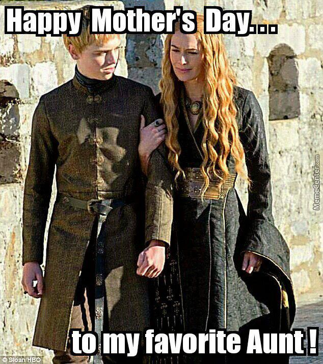 Happy Mother's Day Aunt!