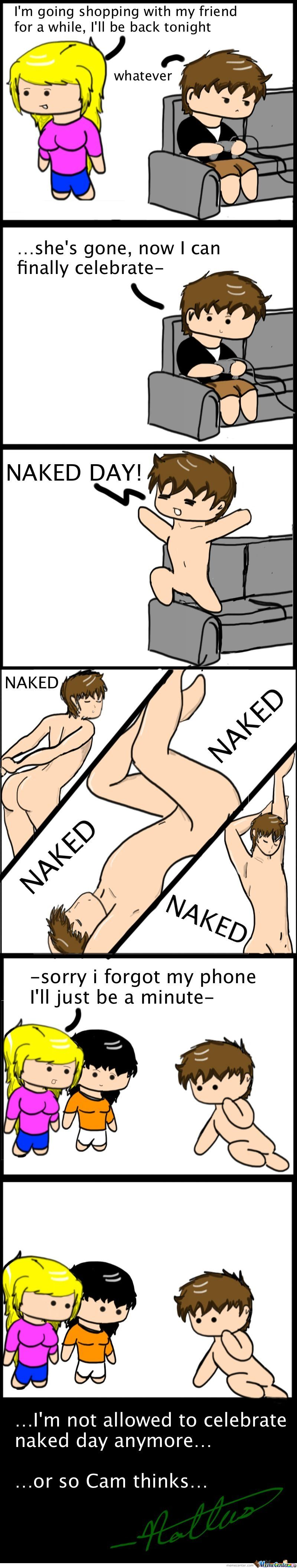 Happy Naked Day