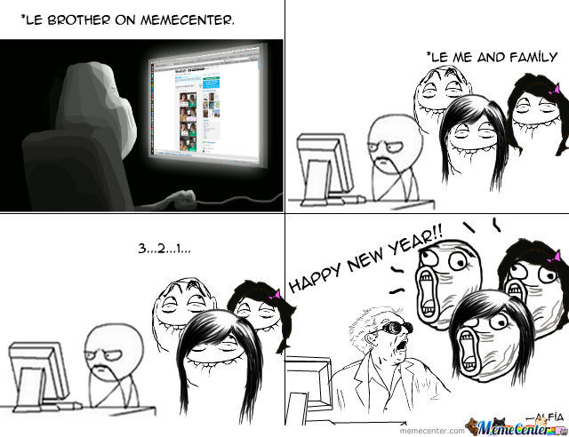 Happy New Year Memecenter!