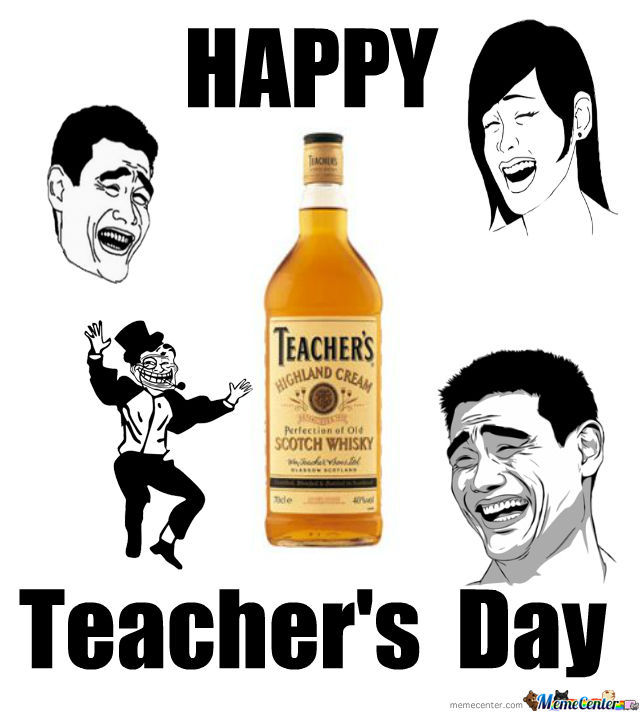 Happy 24 Hours Of Constant Facebook Notifications Day: Happy Teacher's Day By Sanij