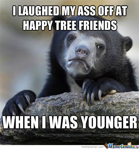 Happy Tree Friends Confession Bear