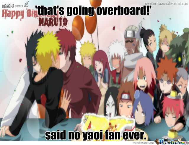 Happy Very Early Birthday, Naruto~