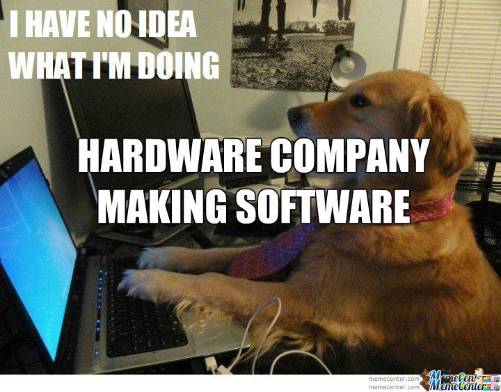 Hardware Company Dog