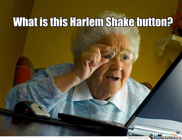Harlem Shake Button