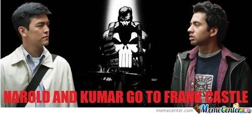 Harold And Kumar Go To Frank Castle