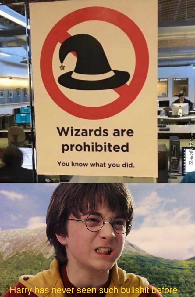 Harry Potter And The Audacity Of This B*Tch