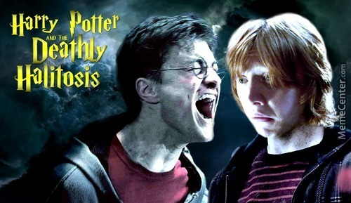 Harry Potter And The Deathly Halitosis
