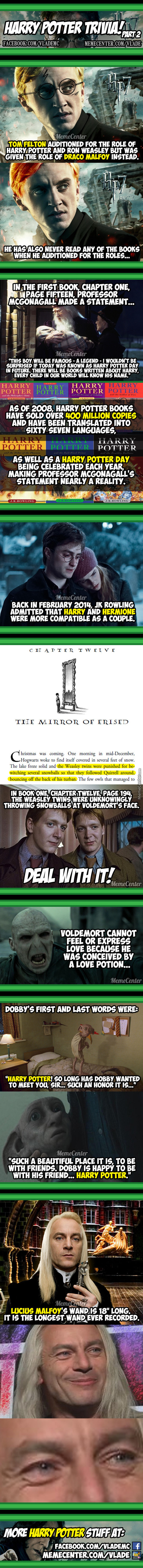 Harry Potter Fun Facts #2