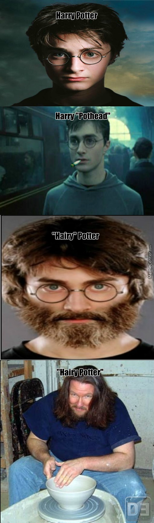 Harry Potter Has Various Names