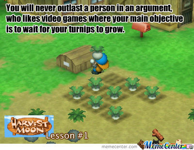 harvest moon lesson 1_o_690159 harvest moon lesson 1 by airyel meme center,Harvest Moon Meme