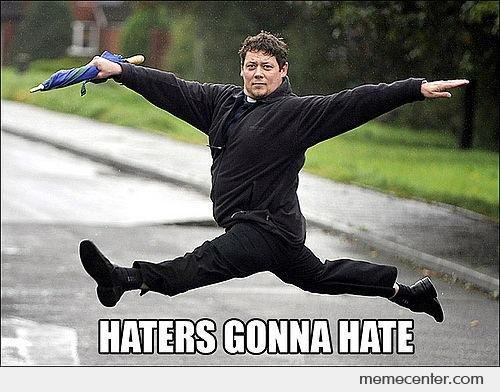 Funny Memes For Haters : Haters gonna ballet by ben meme center