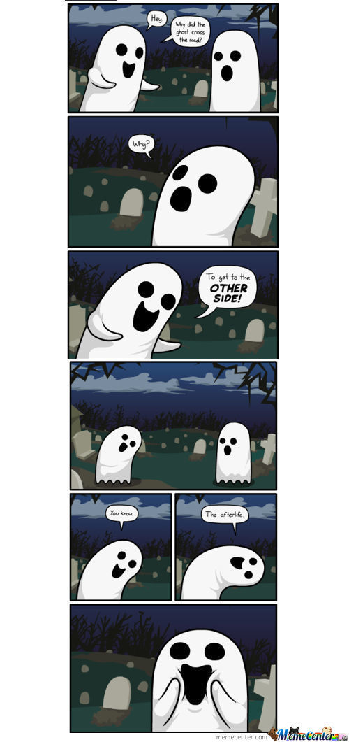 Haunted Humor