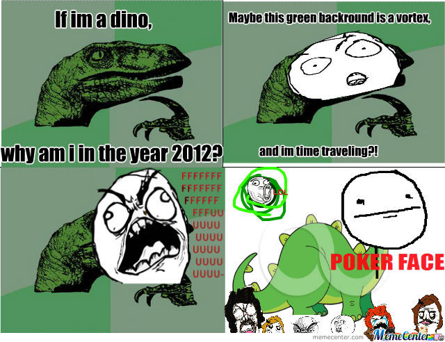 Have You Ever Wonderd Where The Philosoraptor Was?