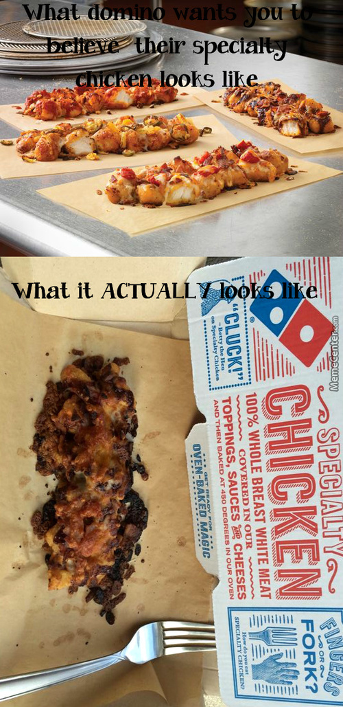 Have You Noticed That In Every Domino's Commercial They Apologize For Sucking?