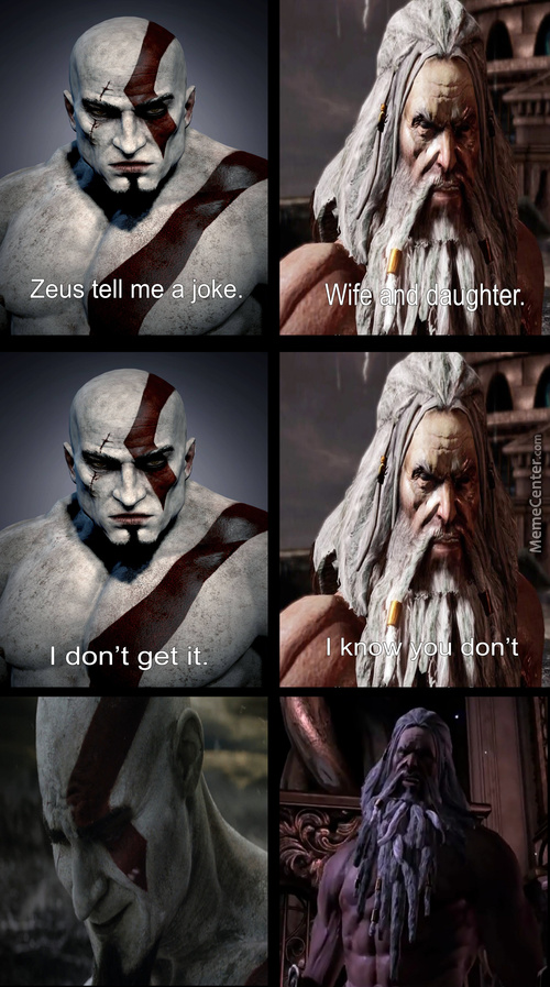 Have Your Revenge Kratos