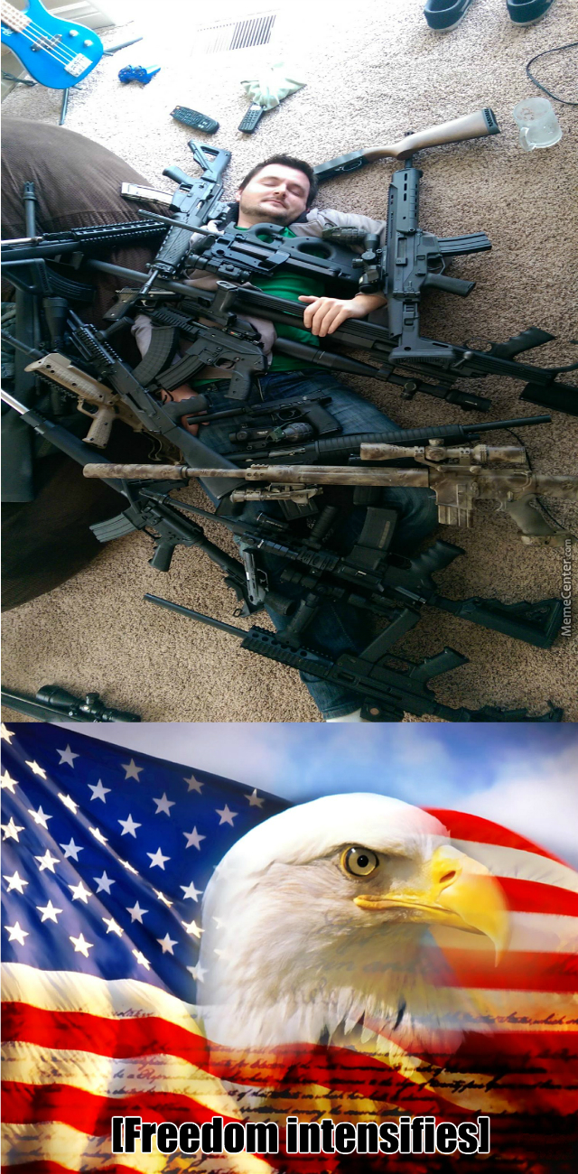 He's Covered In Freedom