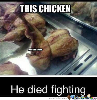 He Died Fighting....
