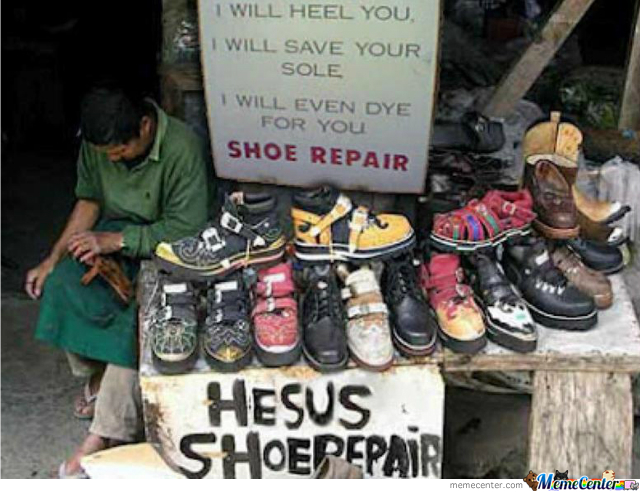 He Will Save Your Sole