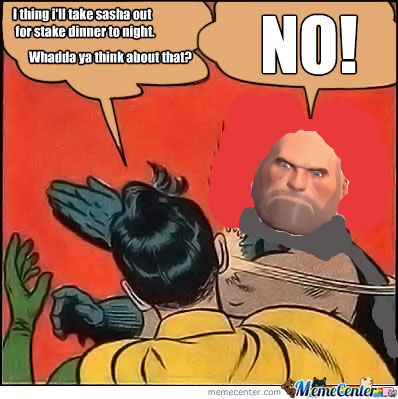 heavy weapons guy disapproves by toasterman meme center
