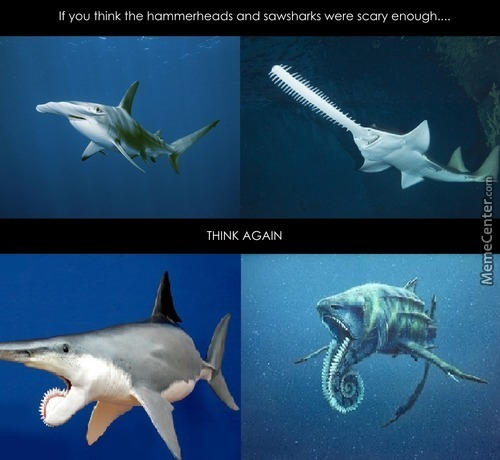 Helicoprion, As If Nature Wasn't Scary Enough