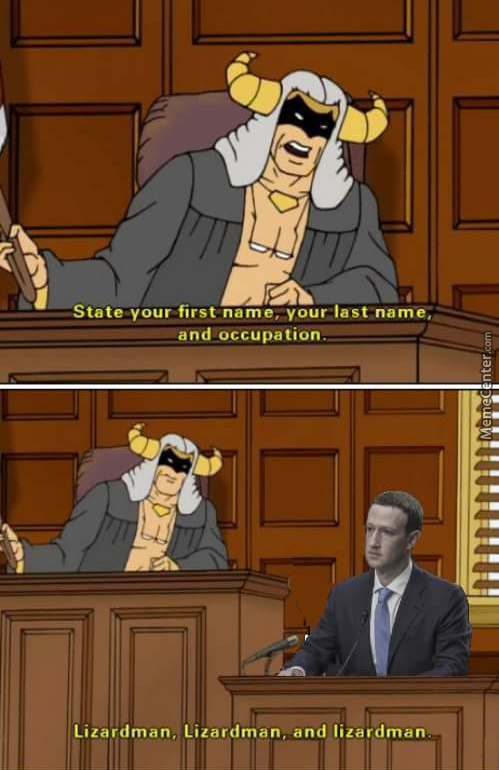 Hello Fellow Humans, As You Can See I'm In A Court Room Giving A Statement, Just Something We Humans Do Once In A While