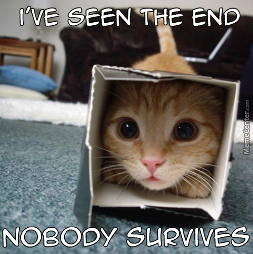 Hells Naw, I Ain't Coming Out Of This Box When George Rr Martin Is Still Alive !