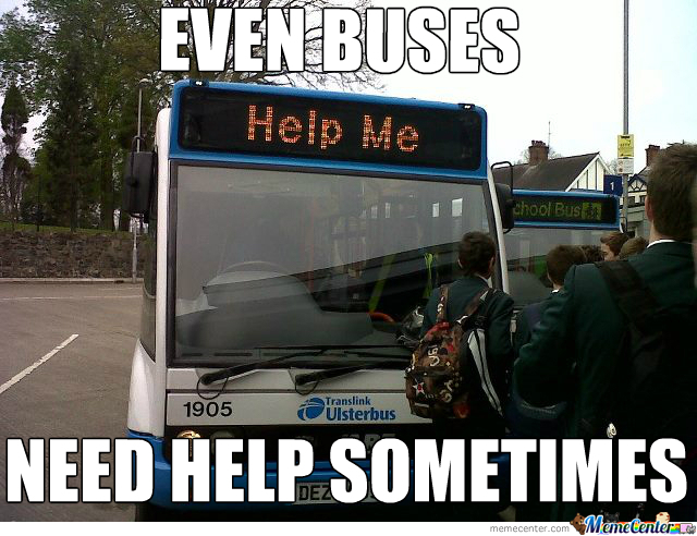 Help  The Buses