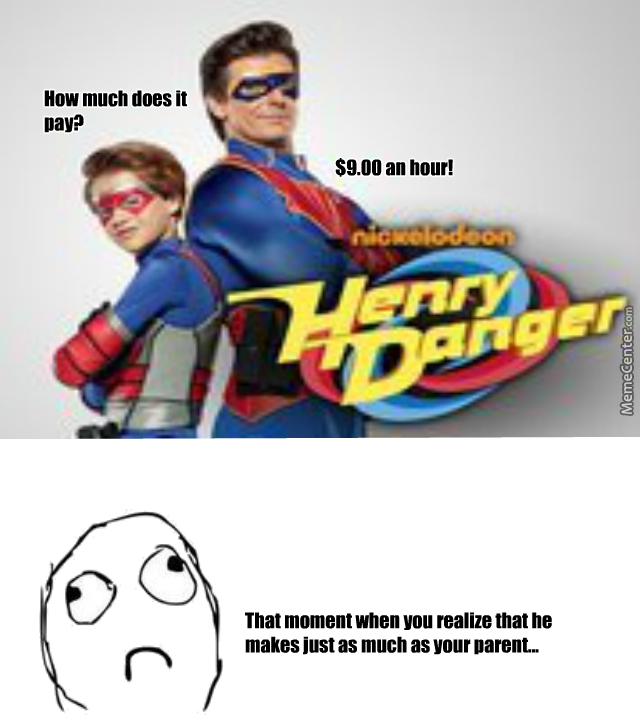 Henry Danger You Asshole By Recyclebin Meme Center