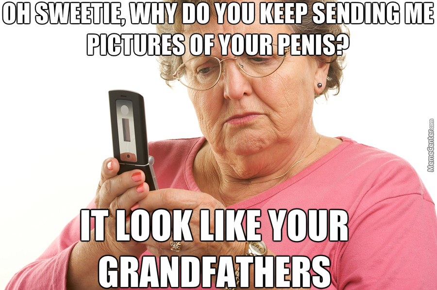 Her Grand Daughters Should Really Check Before She Sends