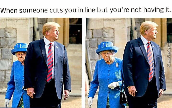 Her Majesty Isn't Impressed