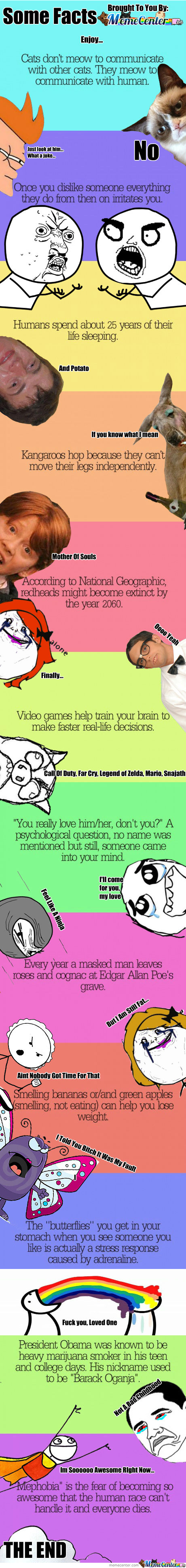 Here Are Some Random Facts For You Guys