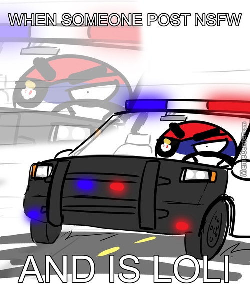 Here Come Bloat With Police Car !