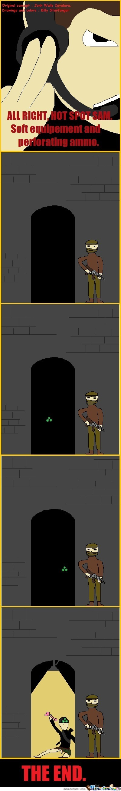"""Here Come The New Adventures Of Echelon4 : """" Hot Spot """". Special Guest : Sam Fisher. Sincerly Yours, Powr_Age."""