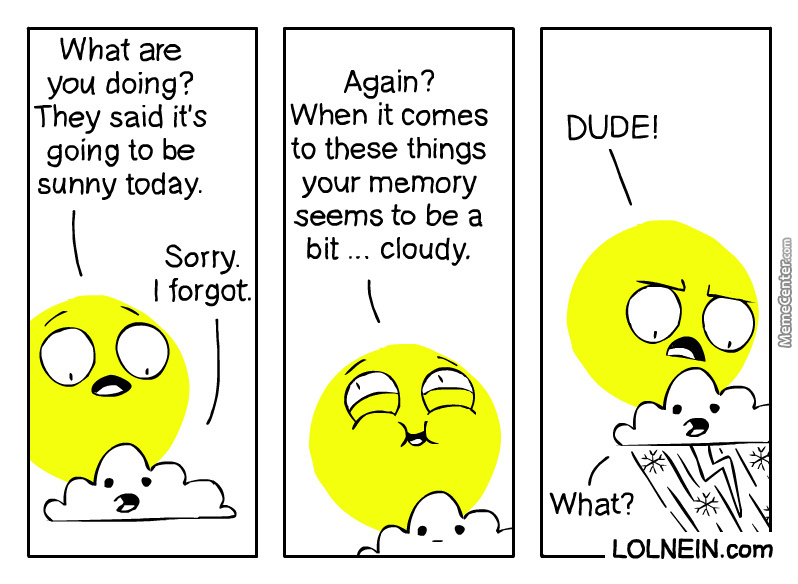 Here Comes The Cloud ...