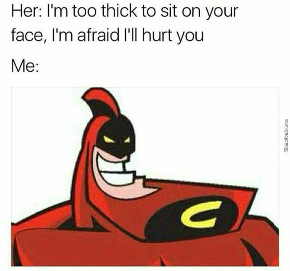 Here Comes The Crimson Chin!!!