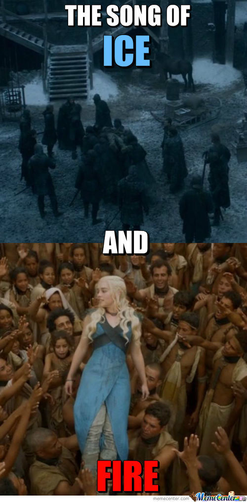 a song of ice and fire thesis