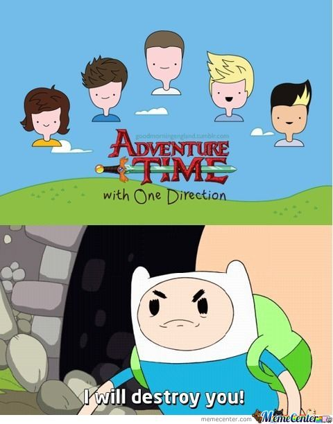 Adventure Time with One Direction