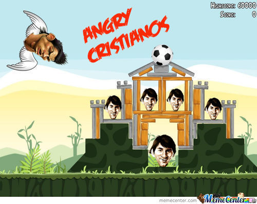 Here's My Idea For A New Game - Angry Cristianos