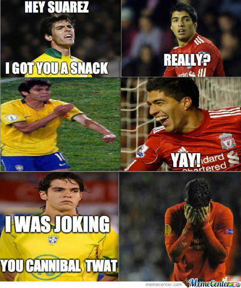 hey suarez u hungry_o_1466589 hey suarez u hungry? by vitor1993 meme center