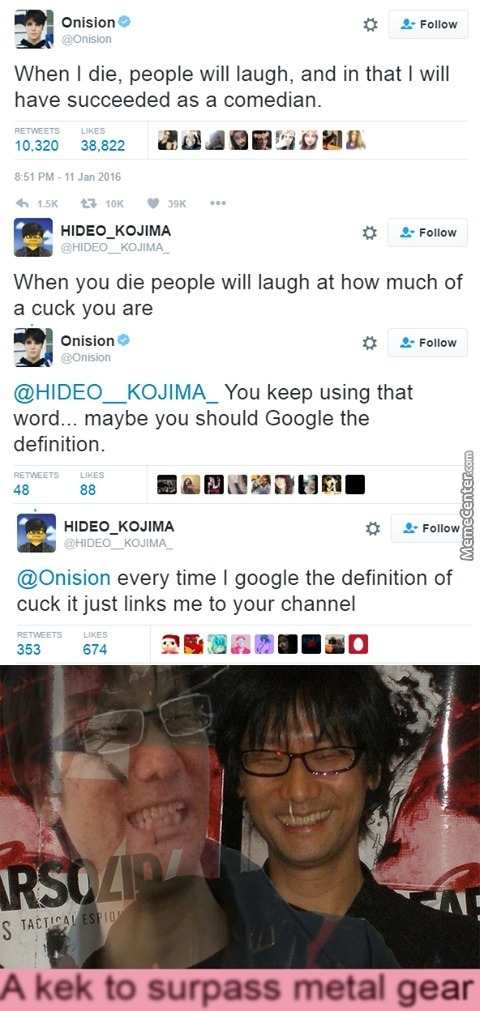 Hideo Kojima Is Based