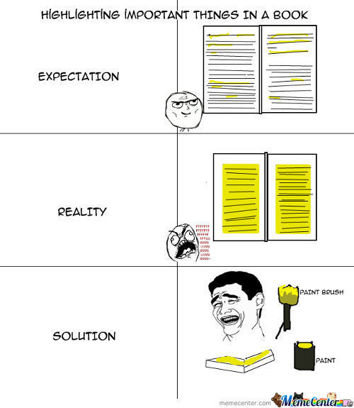 Highlighting Books